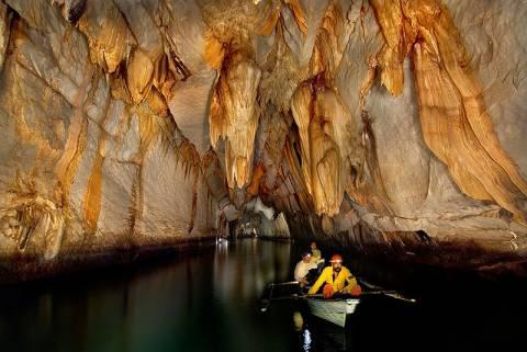 הנהר התת קרקעי פוארטו פרינססה בפיליפינים (1)