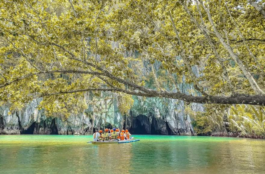 הנהר התת קרקעי פוארטו פרינססה בפיליפינים 2