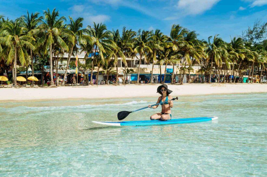 חופים בבורקאי פיליפינים